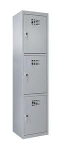 Értékmegőrző szekrény-3 fakkos, széles