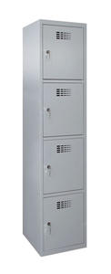 Értékmegőrző szekrény-4 fakkos, széles
