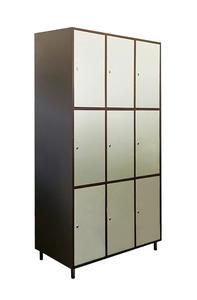 Értékmegőrző szekrény-9 ajtós
