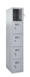 Értékmegőrző szekrény - 5 fakkos, széles