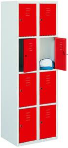 Értékmegőrző szekrény - 8 fakkos