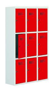 Értékmegőrző szekrény - 9 fakkos