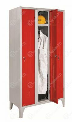 Háromajtós öltözőszekrény
