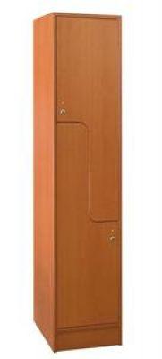 Két Z ajtós öltözőszekrény