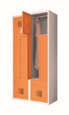 Négy Z ajtós öltözőszekrény