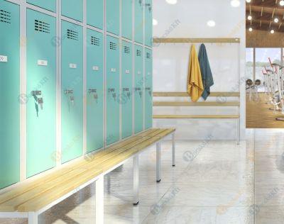 Egybeépíthető sportpad öltözőszekrényhez
